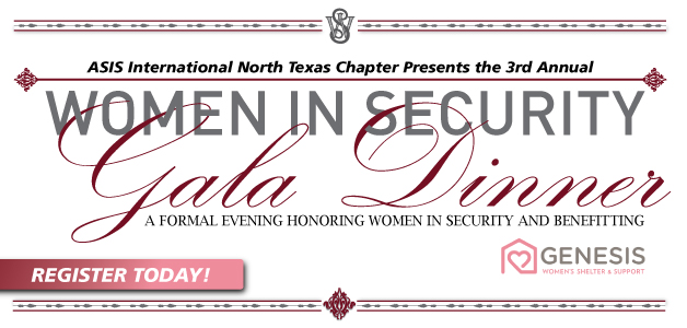 NTX-ASIS Women In Security Event Banner