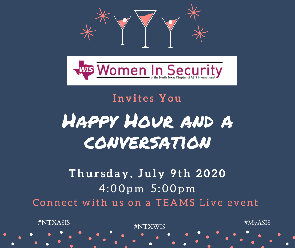 WIS Virtual Happy Hour Invite 2020